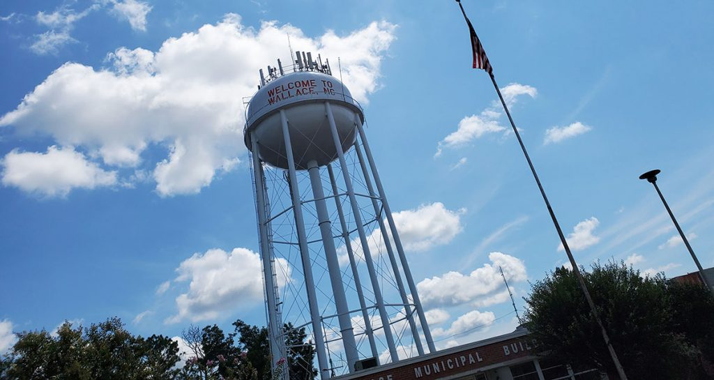 Wallace NC Water Tower